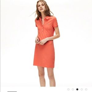 Lacoste Women's Cotton Mini Piqué Polo Dress